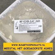 BKP Vijver CLAY-Klei voor kristalhelder koi vijver water NU 3 KILO VAN 19.95 VOOR 14.95