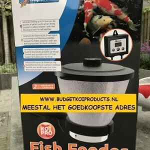 Superfish Voerautomaat Koi-Pro Fish Feeder 7 Liter NU NU 99,95 LET OP NIEUWSTE MODEL!!!